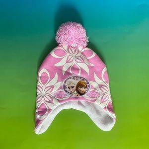 Disney Frozen Kids Winter Pom-Pom Hat